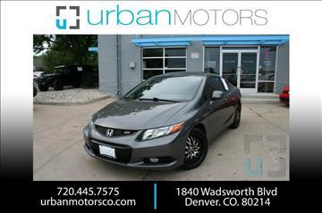 2012 Honda Civic for sale in Denver, CO