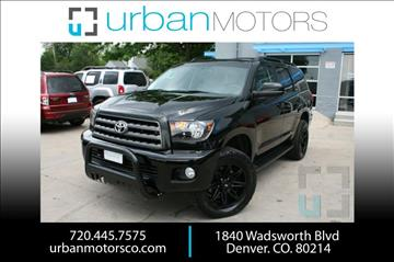 2016 Toyota Sequoia for sale in Denver, CO