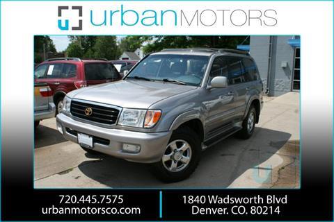 2002 Toyota Land Cruiser for sale in Denver, CO