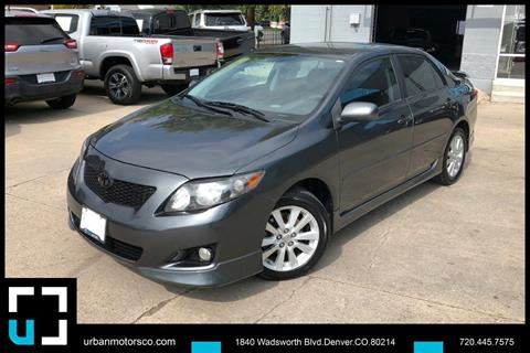 2009 Toyota Corolla for sale in Denver, CO