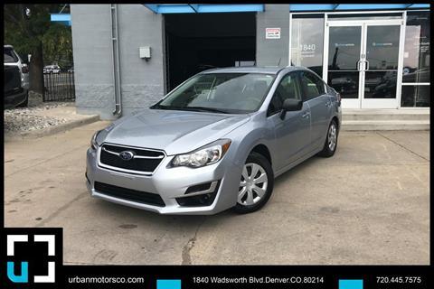 2016 Subaru Impreza for sale in Denver, CO