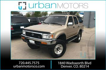1995 Toyota 4Runner for sale in Denver, CO