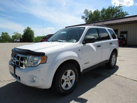 2008 Ford Escape Hybrid for sale in Random Lake, WI
