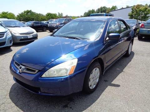 2004 Honda Accord for sale in Stafford, VA