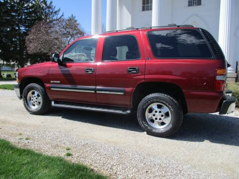2001 Chevrolet Tahoe LS for sale at Longs Automobile Emporium Inc in Atwater OH