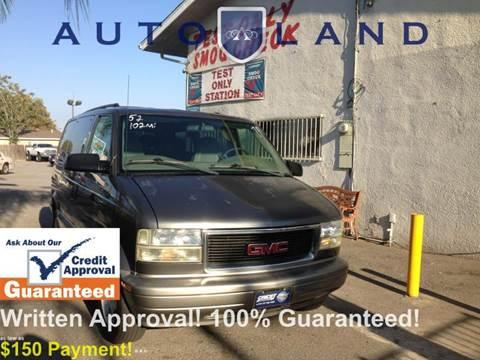 2003 GMC Safari for sale at Auto Land in Bloomington CA