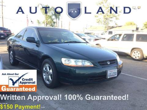 1999 Honda Accord for sale at Auto Land in Bloomington CA