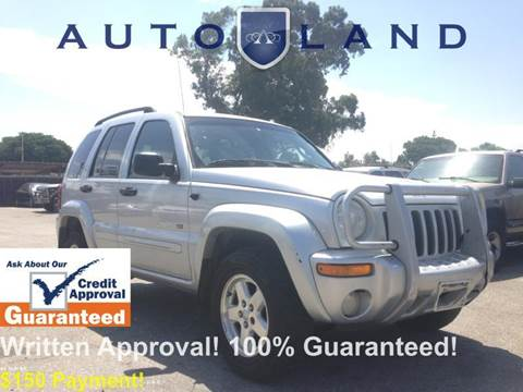 2002 Jeep Liberty for sale at Auto Land in Bloomington CA