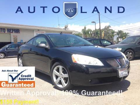 2006 Pontiac G6 for sale at Auto Land in Bloomington CA
