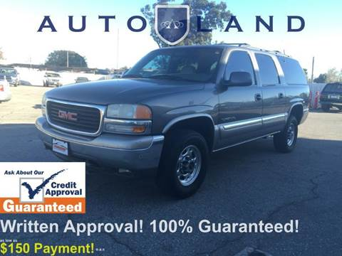 2000 GMC Yukon XL for sale at Auto Land in Bloomington CA