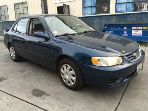 2001 Toyota Corolla for sale at Auto Land in Bloomington CA