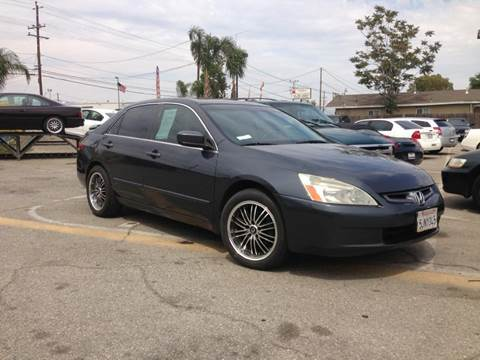 2004 Honda Accord for sale at Auto Land in Bloomington CA