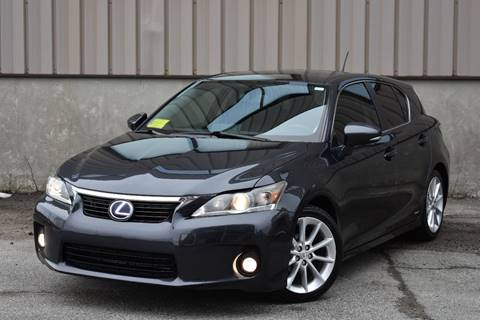 2011 Lexus Ct 200h For Sale In Indiana Carsforsale