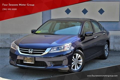 2014 Honda Accord for sale in Swampscott, MA