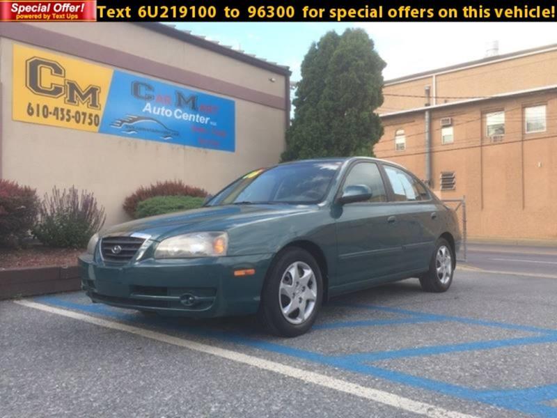 2006 Hyundai Elantra For Sale At CAR MART AUTO CENTER, INC. In Allentown PA