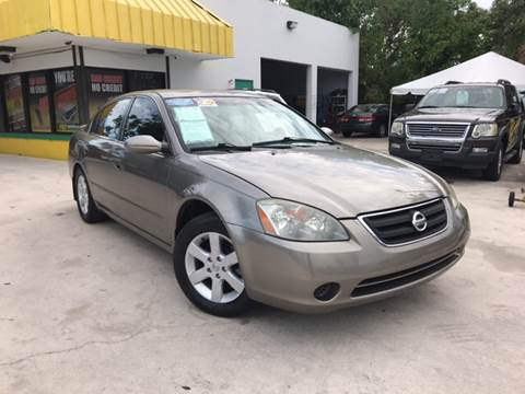 2002 Nissan Altima for sale in West Palm Beach, FL