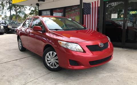 2010 Toyota Corolla for sale at West Palm Beach in West Palm Beach FL