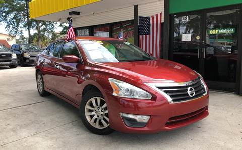 2015 Nissan Altima for sale at West Palm Beach in West Palm Beach FL