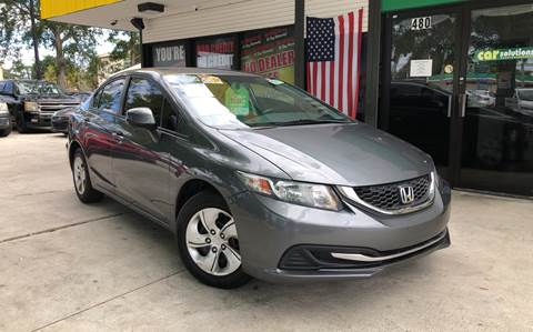 2013 Honda Civic for sale at West Palm Beach in West Palm Beach FL