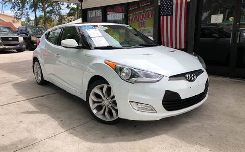 2013 Hyundai Veloster for sale at West Palm Beach in West Palm Beach FL