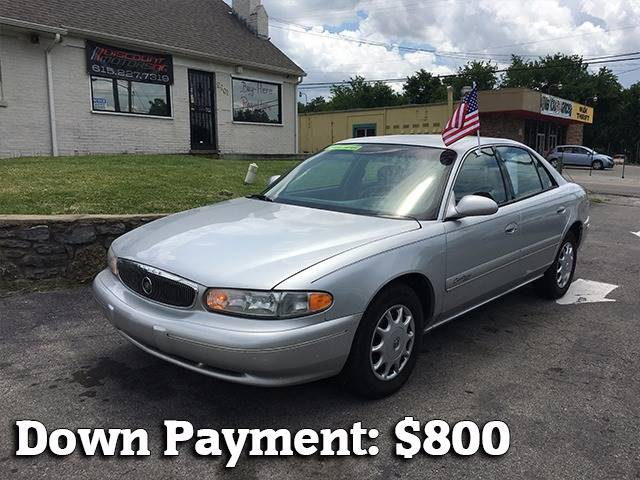 2002 Buick Century for sale at Discount Motors Inc in Nashville TN