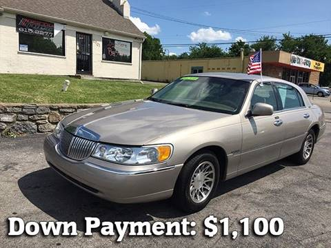 2000 Lincoln Town Car for sale at Discount Motors Inc in Nashville TN