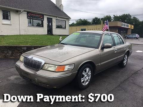 2002 Mercury Grand Marquis for sale at Discount Motors Inc in Nashville TN