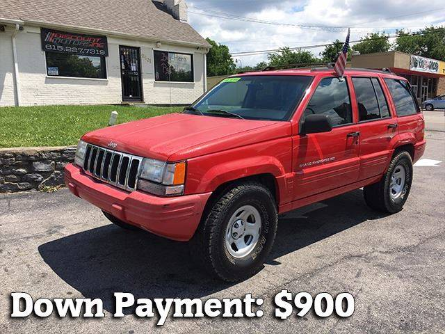 1998 Jeep Grand Cherokee for sale at Discount Motors Inc in Nashville TN