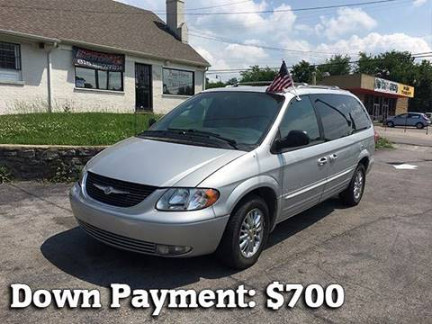 2001 Chrysler Town and Country for sale in Nashville, TN