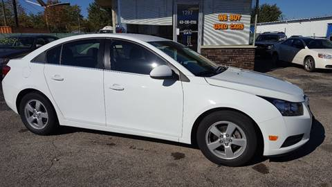 2014 Chevrolet Cruze for sale in Wauseon, OH