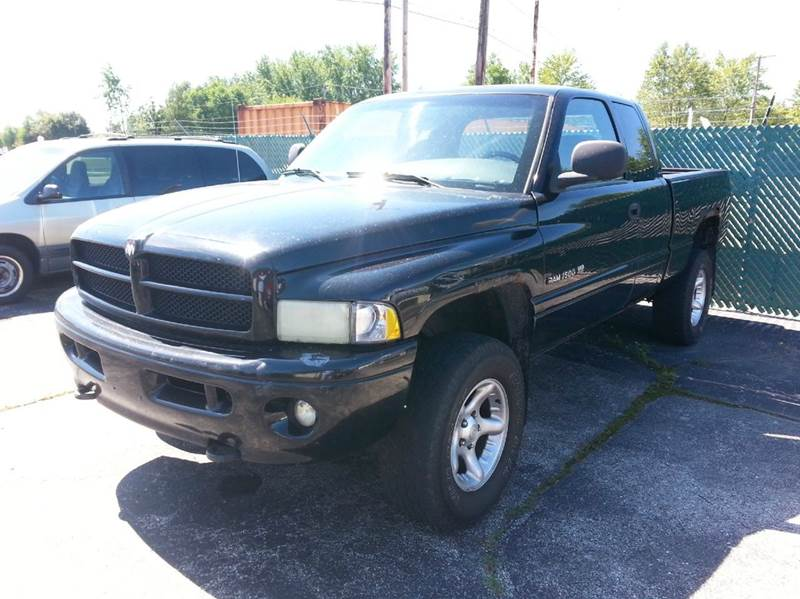 2001 dodge ram pickup 1500 4dr quad cab slt 4wd sb in wauseon oh wagner motors llc. Black Bedroom Furniture Sets. Home Design Ideas