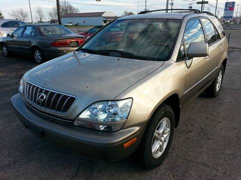 2002 Lexus RX 300 for sale at Wagner Motors LLC in Wauseon OH