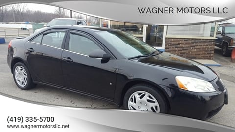 2008 Pontiac G6 for sale in Wauseon, OH