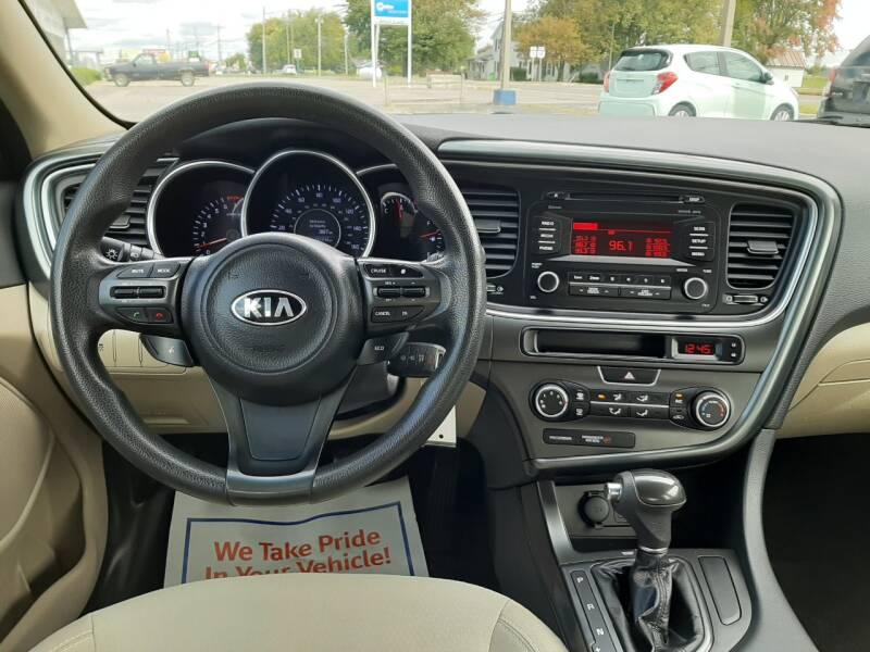 2014 Kia Optima LX 4dr Sedan - Wauseon OH