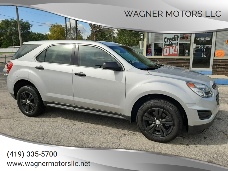 2016 Chevrolet Equinox AWD LS 4dr SUV - Wauseon OH