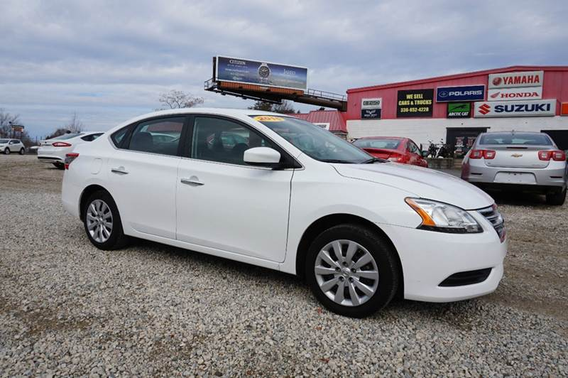 2015 Nissan Sentra for sale at Kevin Powell Motorsports Greensboro in Greensboro NC