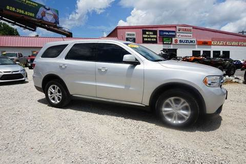 2013 Dodge Durango for sale at Kevin Powell Motorsports Greensboro in Greensboro NC