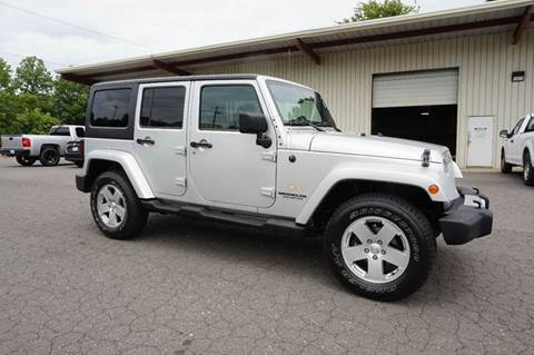2012 Jeep Wrangler Unlimited for sale at Kevin Powell Motorsports Greensboro in Greensboro NC
