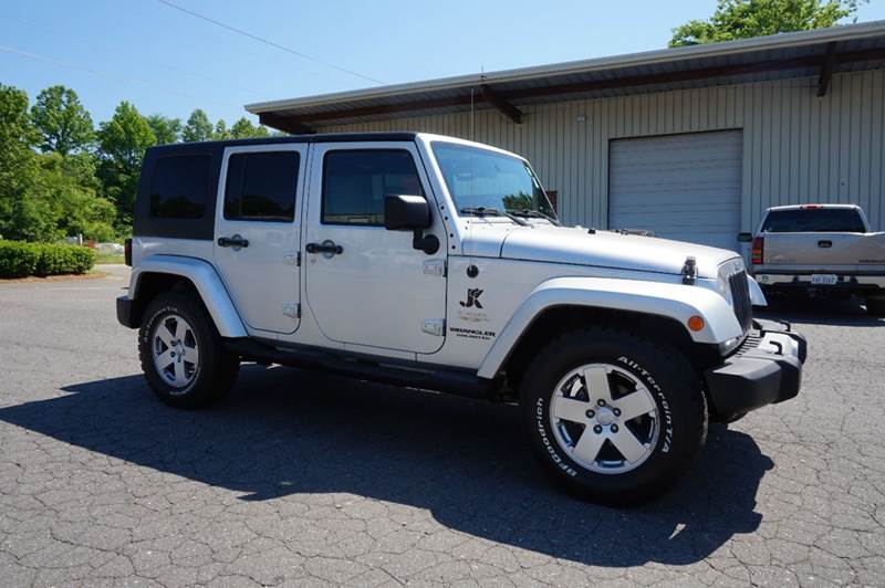 2008 Jeep Wrangler Unlimited for sale at Kevin Powell Motorsports Greensboro in Greensboro NC