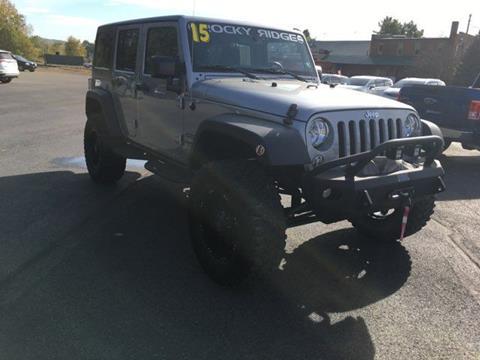 2015 Jeep Wrangler Unlimited for sale in Towanda, PA