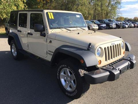 2011 Jeep Wrangler Unlimited for sale in Towanda, PA