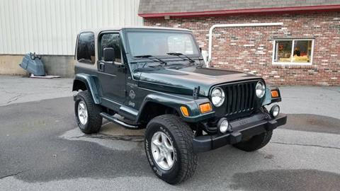 2000 Jeep Wrangler for sale in Spofford, NH