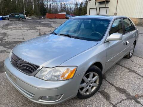 2001 Toyota Avalon for sale at Granite Auto Sales in Spofford NH