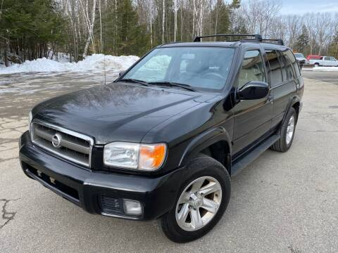 2002 Nissan Pathfinder for sale at Granite Auto Sales in Spofford NH