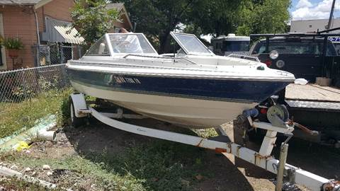 1998 Bayliner inside engine for sale at C.J. AUTO SALES llc. in San Antonio TX