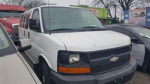 2011 Chevrolet Express Passenger for sale at C.J. AUTO SALES llc. in San Antonio TX