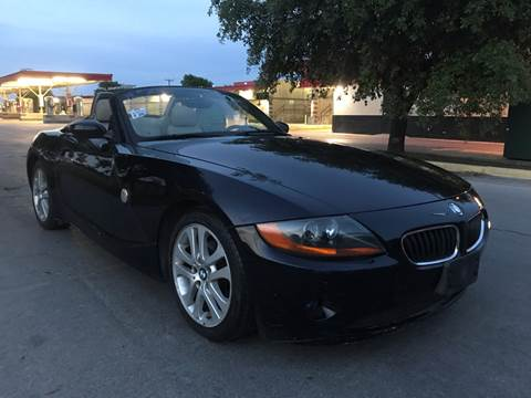 2003 BMW Z4 for sale at C.J. AUTO SALES llc. in San Antonio TX