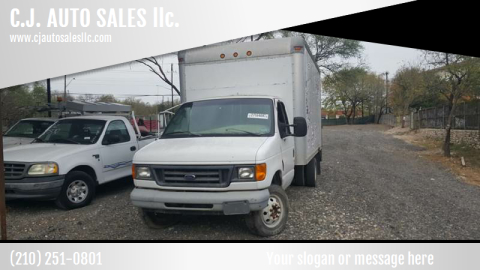 2006 Ford box truck for sale at C.J. AUTO SALES llc. in San Antonio TX