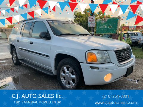 2004 GMC Envoy XUV for sale at C.J. AUTO SALES llc. in San Antonio TX