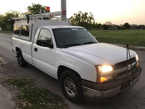 2004 Chevrolet Silverado 1500 for sale at C.J. AUTO SALES llc. in San Antonio TX